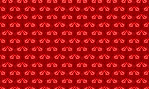 Valves Red Pattern