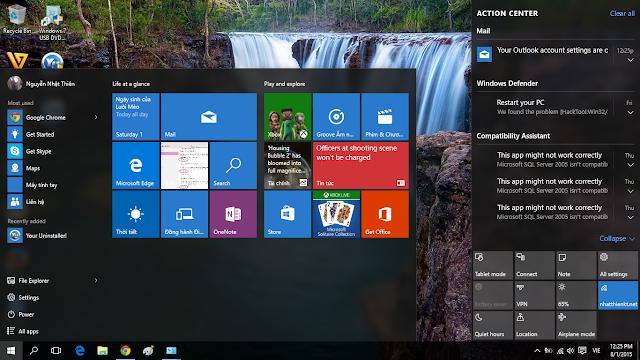 Windows 10 download bản chính thức 29/7/2015 quá HOT