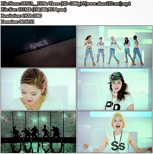 Download MV SPICA - I'll Be There (Full HD 1080p)