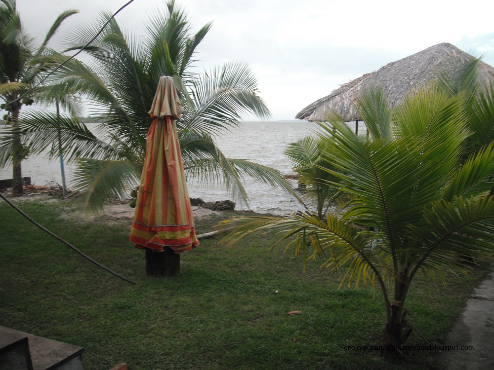 View From The Back Of Casa Ulrich Pearl Lagoon Nicaragua