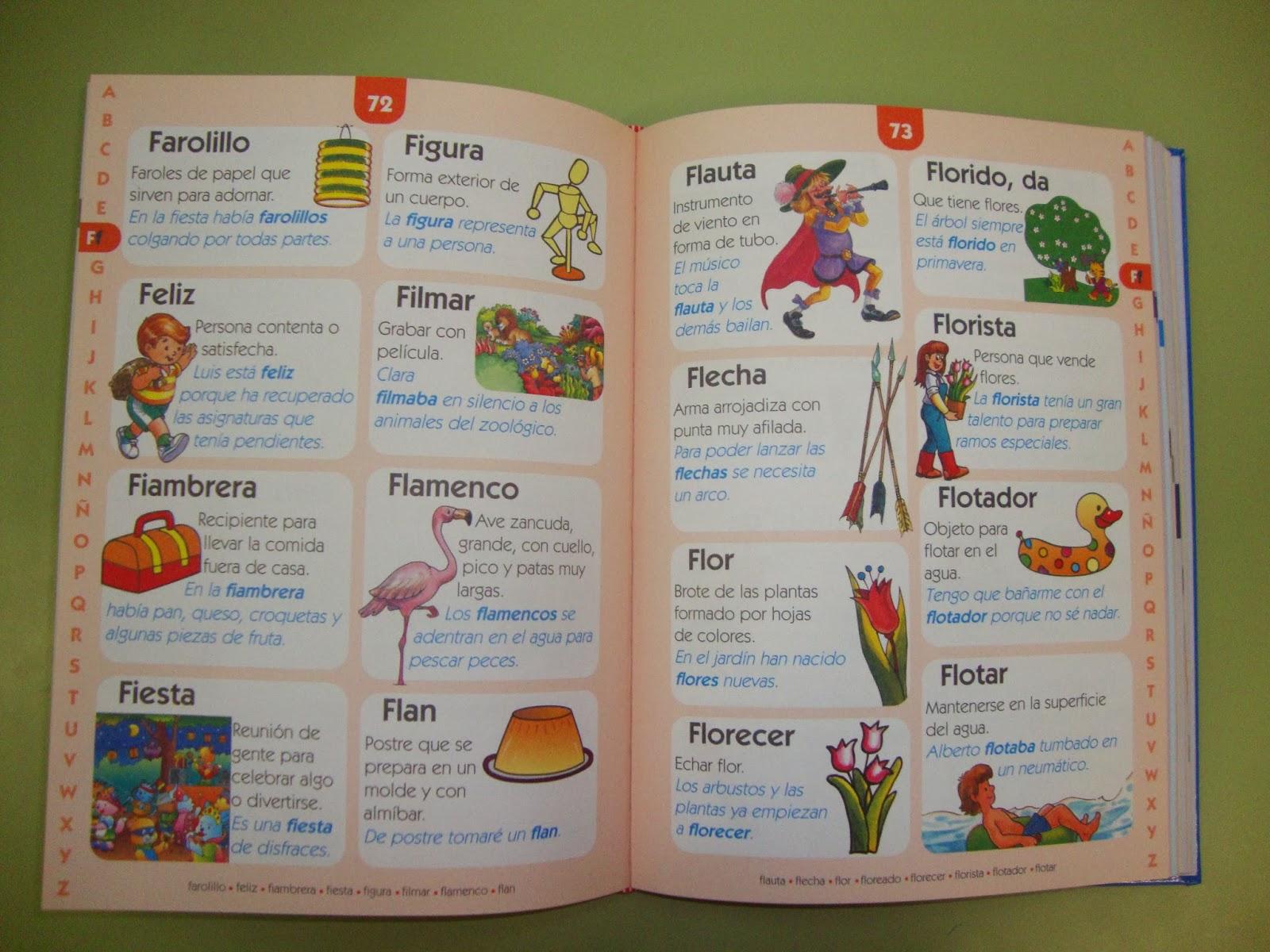 diccionarios para buscar palabras: