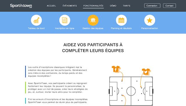 SportInTown, la nouvelle plateforme dédiée à l'organisation d'événements sportifs