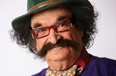 Gene Shalit Mustache