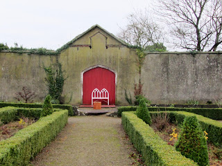 Pathway in the walled garden at Duckett's Grove, Carlow