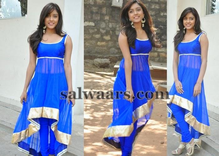 Vitika Sheru Blue Salwar