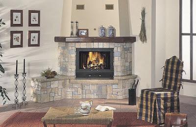 Tipos modernos de chimeneas en el 2012 decoracion de salones - Tipo de chimeneas ...