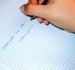 Pongamonos a escribir...