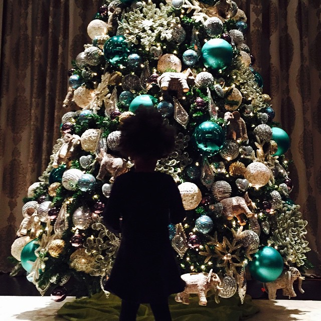 The Best Of Celebrity Christmas Trees @beyonce - Cool Chic Style Fashion