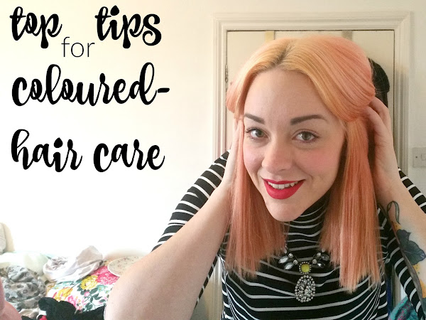 top tips for coloured-hair care