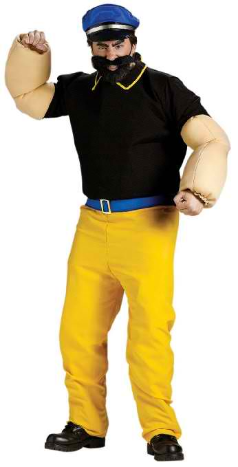 Brutus Costume - Standard - Chest Size 33-45