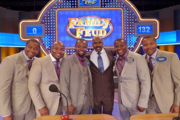 Gospel Singing Group The Wardlaw Brothers Are Set To Appear On Popular American Tv Game Show The Family Feud With Celebrity Host Steve Harvey