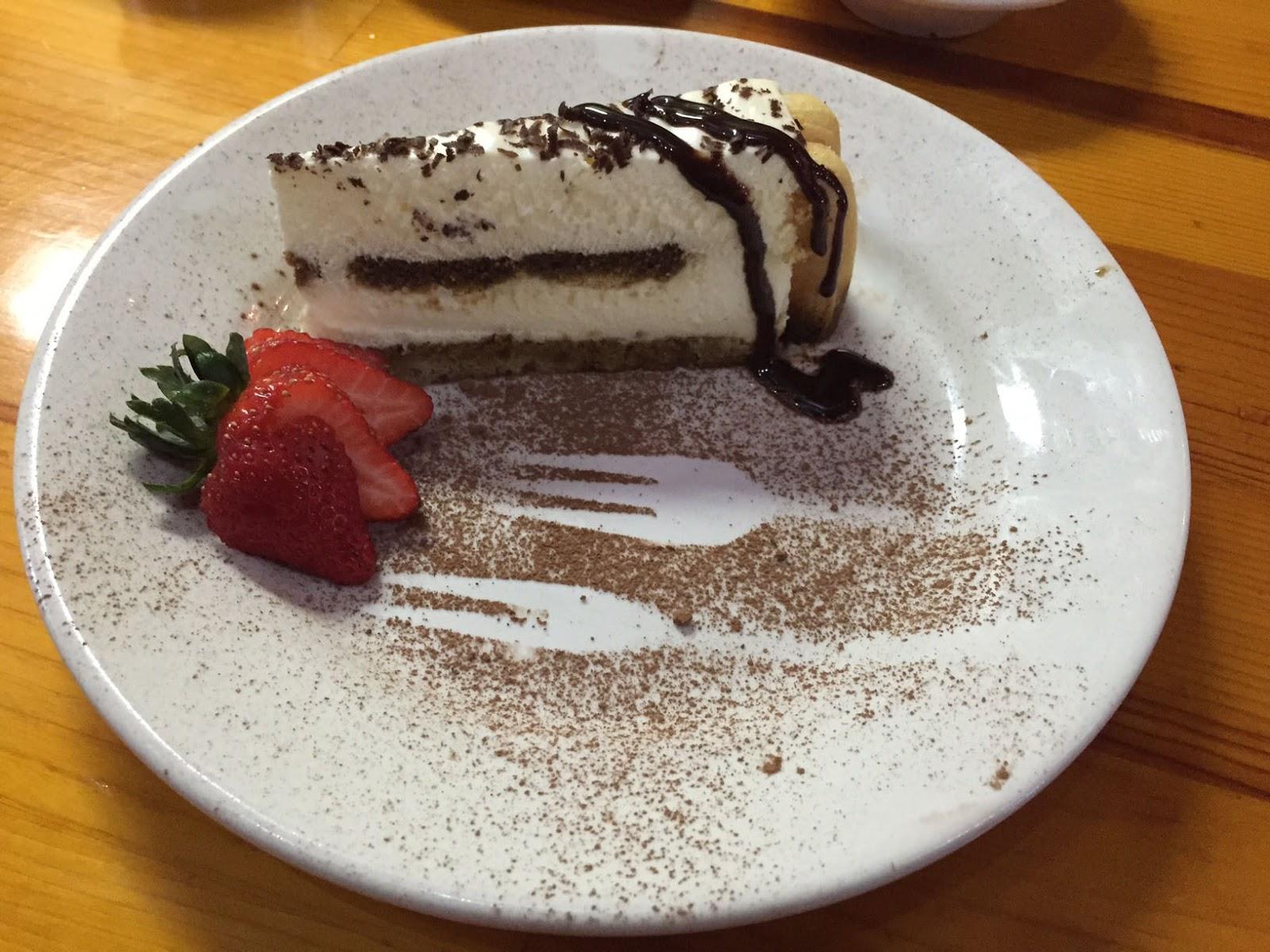 Dessert at Dwights Bistro