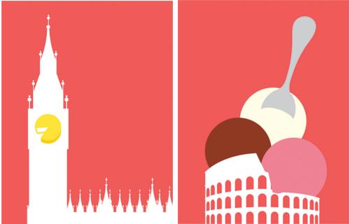 Le città da mangiare di Ben Wiseman.