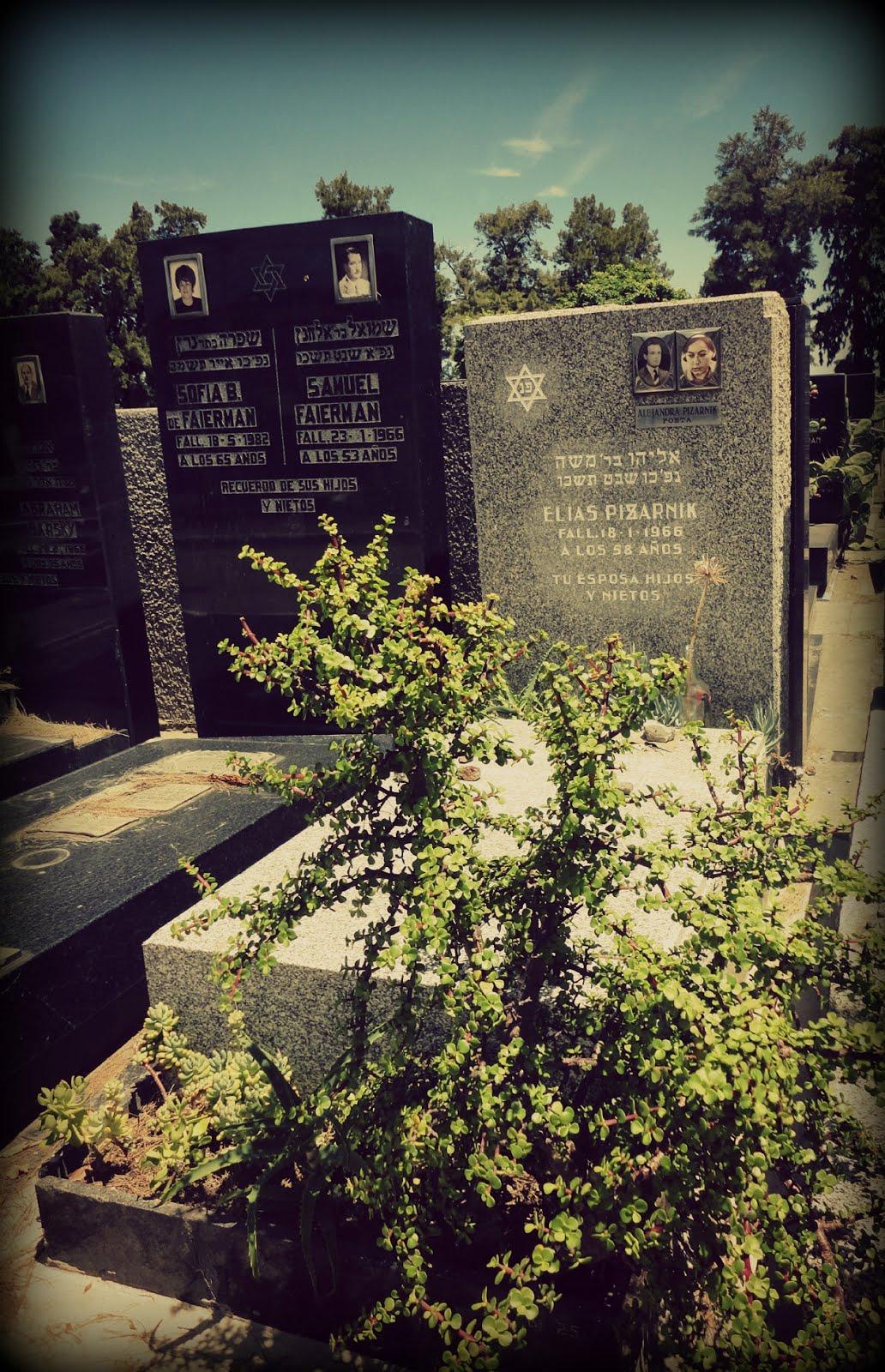 La tumba de Alejandra Pizarnik