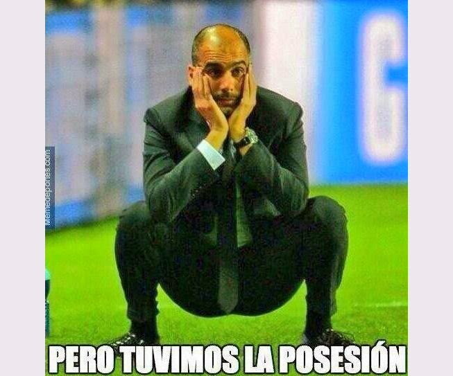 Guardiola Bayern 0 Real Madrid 4