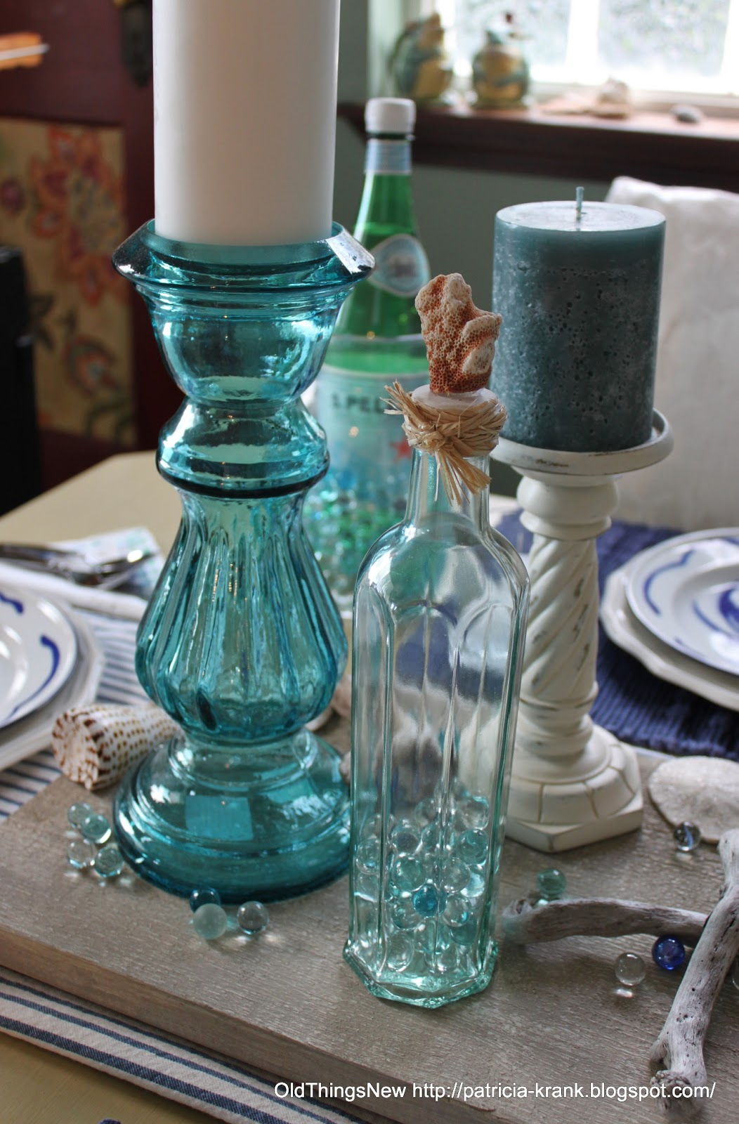 Homegoods Com Catalog 12Play4Fun  My favorite thing about the entire table  are the tall aqua candlesticks I found on sale. Homegoods Com Catalog   Kisekae Rakuen com