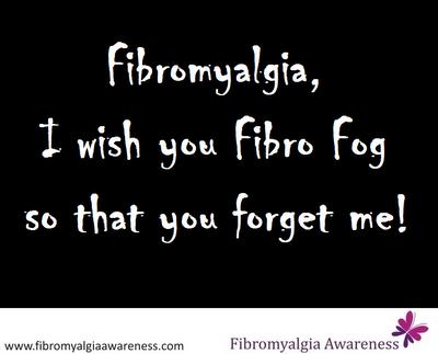 Fibro Fog / Fibromyalgia Poster