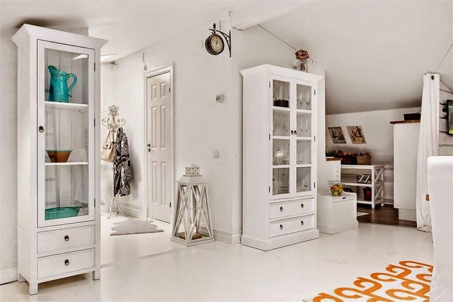 BLOG DE DECORAÇÃOPUXE A CADEIRA E SENTE!  Loft Scandinavo de 71 m2 -> Armario De Banheiro Lofty