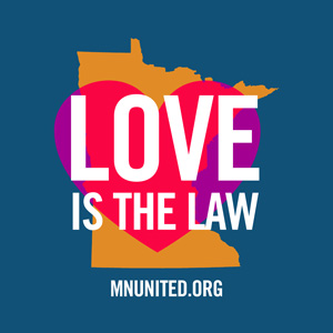 free love is the law bumper sticker minnesotans united