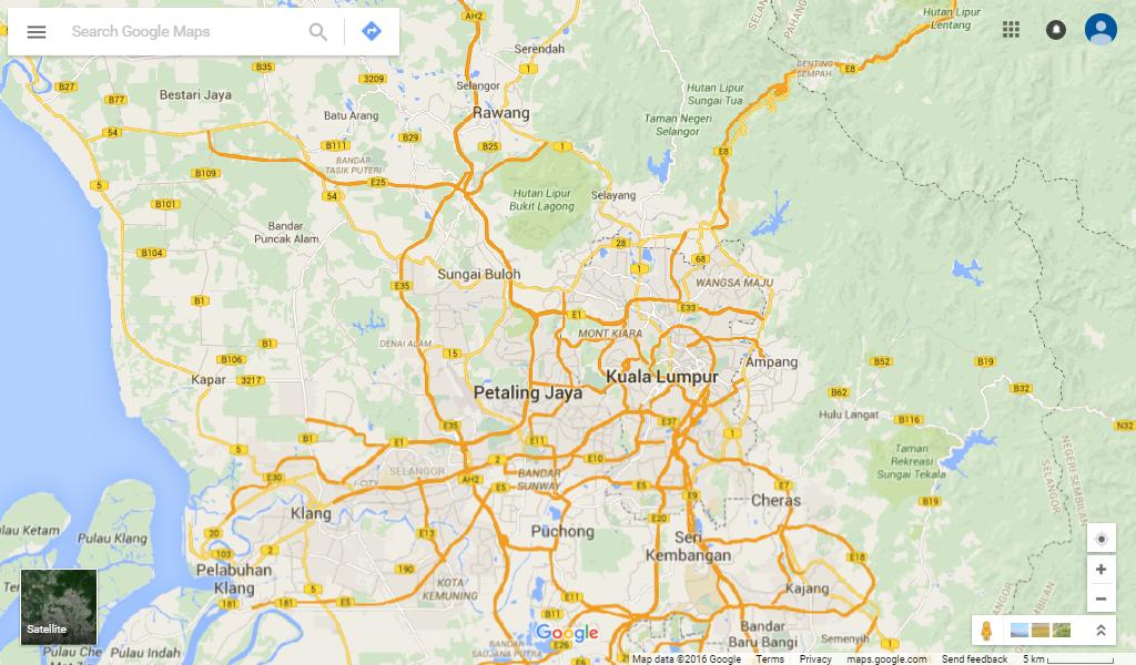 ZMT Coverage - Selangor (Central)
