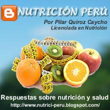 BLOG NUTRICION PERU