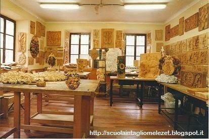 laboratorio scuola intaglio Melezet