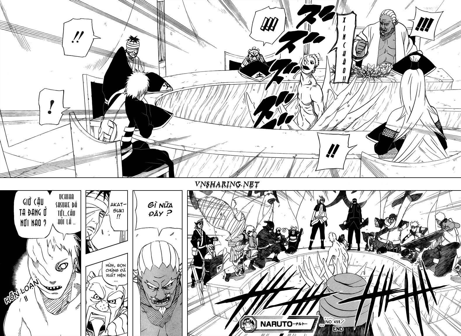 Naruto chap 459 Trang 17 - Mangak.info