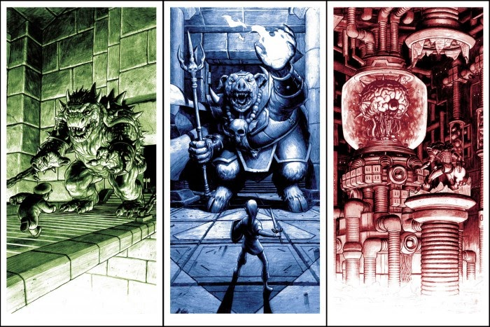 Boss Fight! Video Game Themed Print Set by Nick Derington