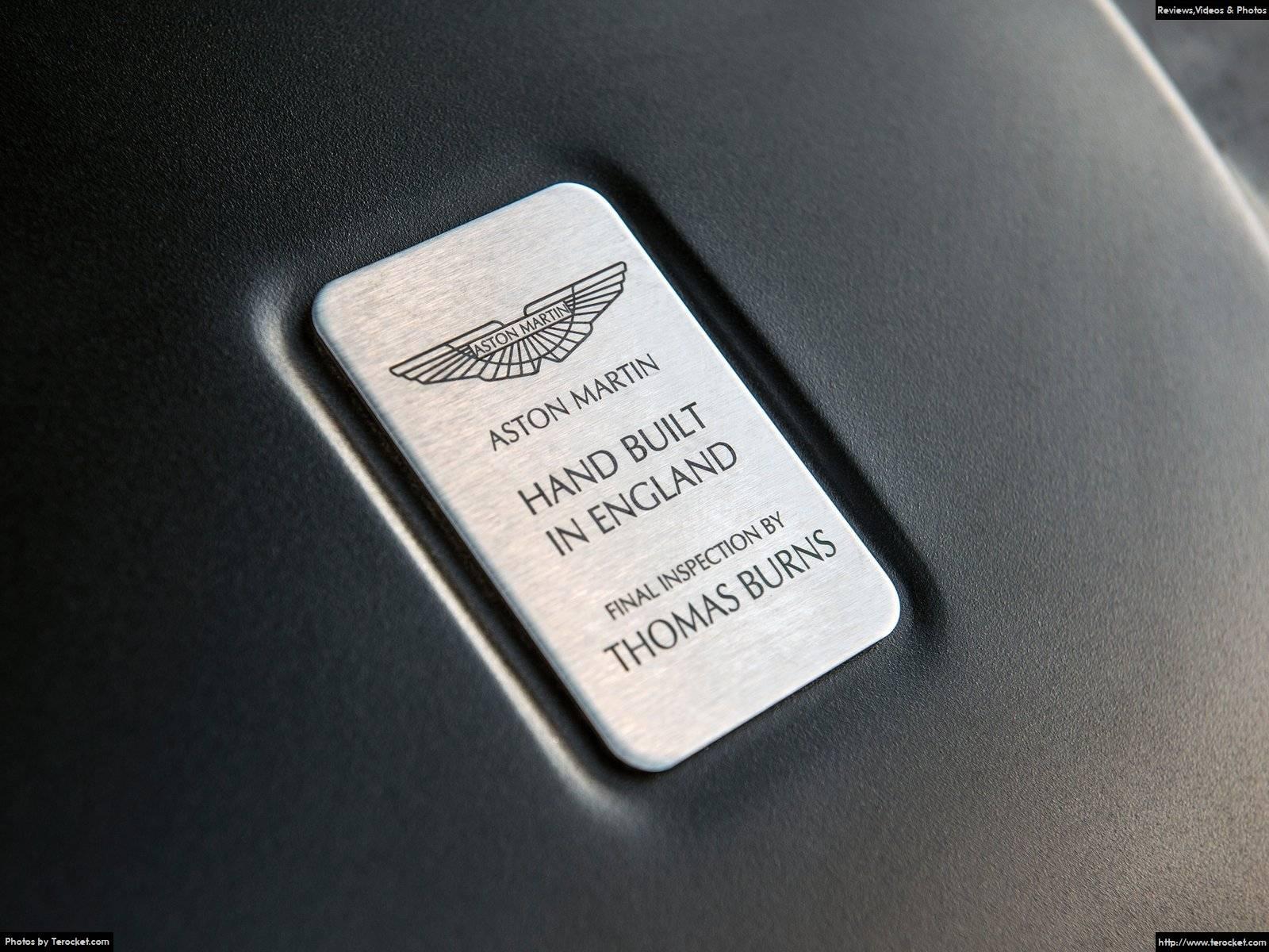 Hình ảnh xe ô tô Aston Martin DB9 GT 2016 & nội ngoại thất