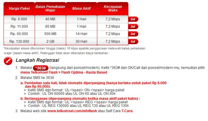 Home » Paket Internet » Paket Internet Simpati Optima Ultima