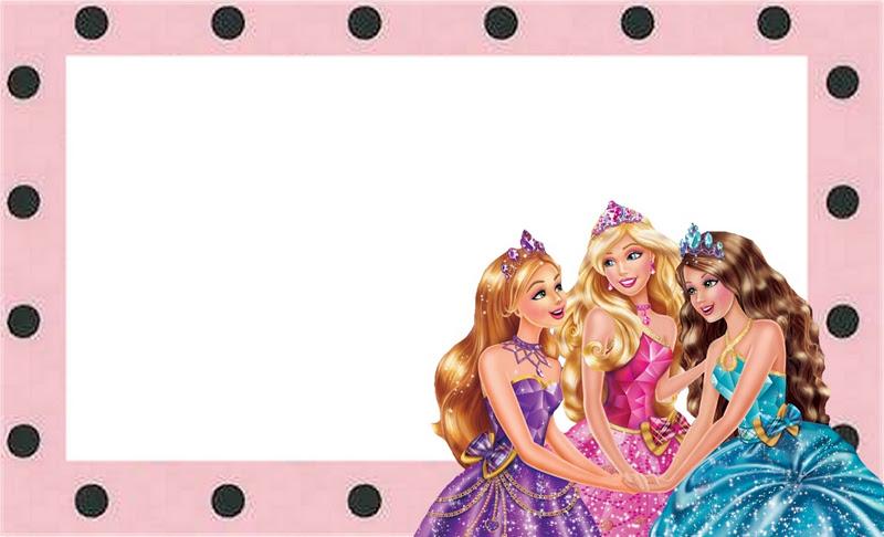 Marcos de princesa y barbie - Imagui