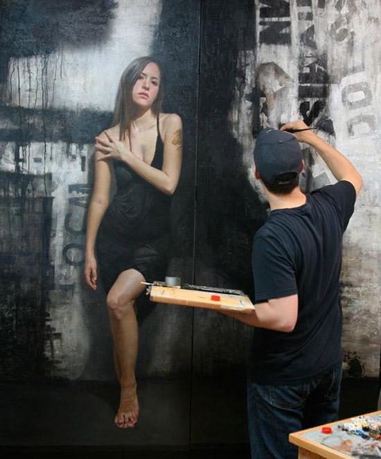 lukisan dinding terbaik