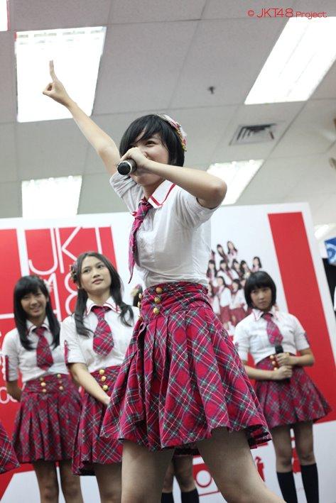 Kamen style : Ghaida JKT48