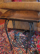 Make an Iron-wood table for free