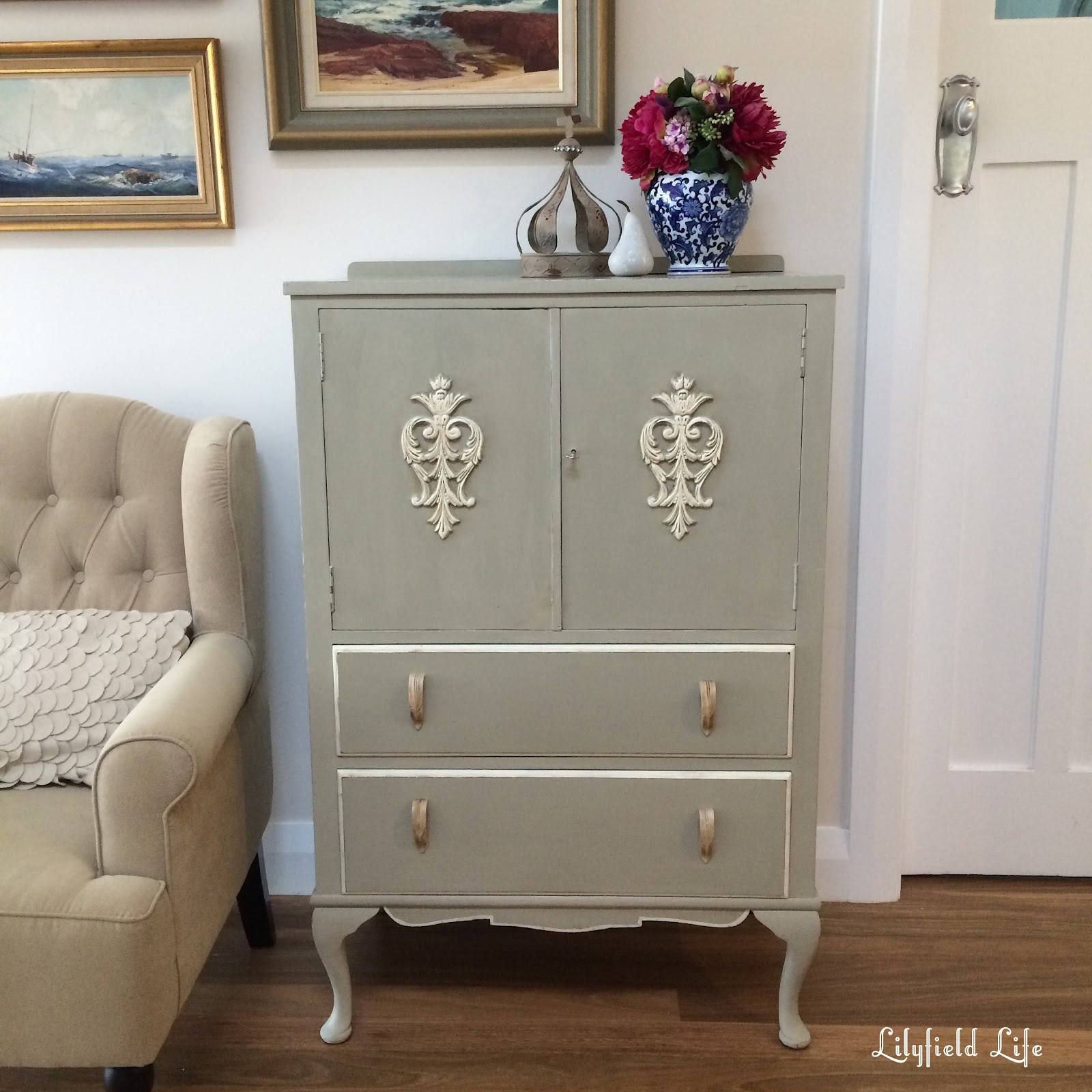 Lilyfield Life Little French Style Armoire Cabinet