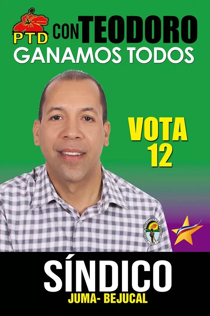 CON TEODORO GANAMOS TODOS VOTA 12