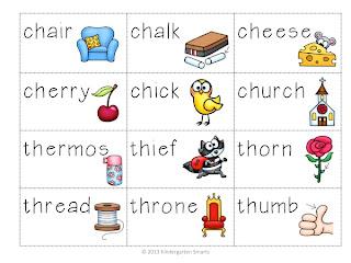 Digraphs - Kindergarten Smarts