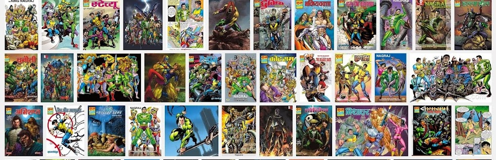 Hindi Raj Comics Novels and Offers Collection