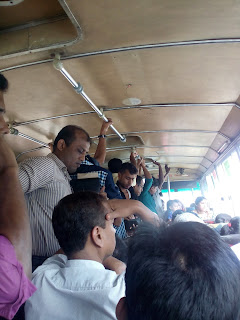 Riding on bus is risky in Dhaka