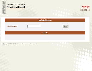 Ingresantes examen CEPREVI VILLARREAL 2014-C Examen Universidad Nacional Federico Villarreal 1 de Marzo