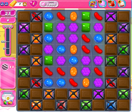 Candy Crush Saga 1006