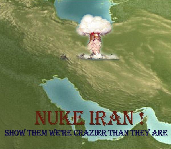 ISRAEL AND IRAN PRES NUCLEAR JOKE