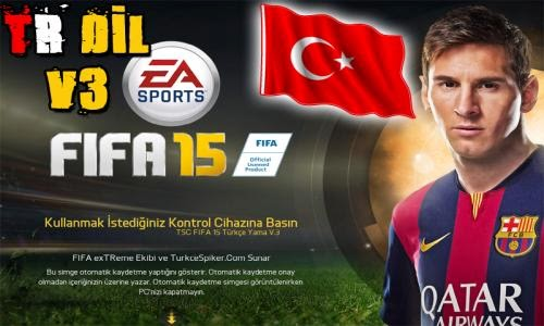 FIFA 2015 Türkçe Dil Yaması İndir