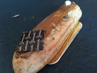 Where to find the best coffee eclair in Paris ? Yamazaki