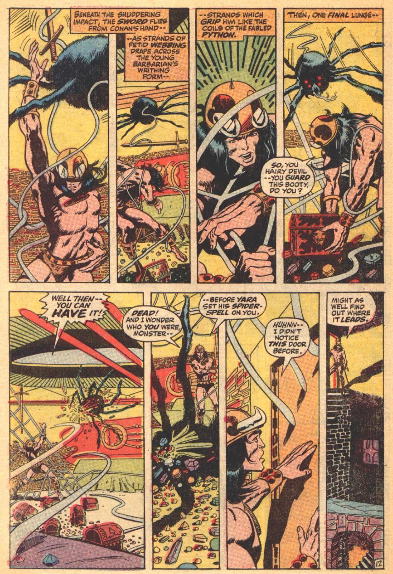 Conan the Barbarian (1970) Issue #4 #16 - English 13