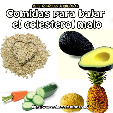 Que se puede comer para bajar el colesterol dietas de nutricion y alimentos - Alimentos beneficiosos para el colesterol ...