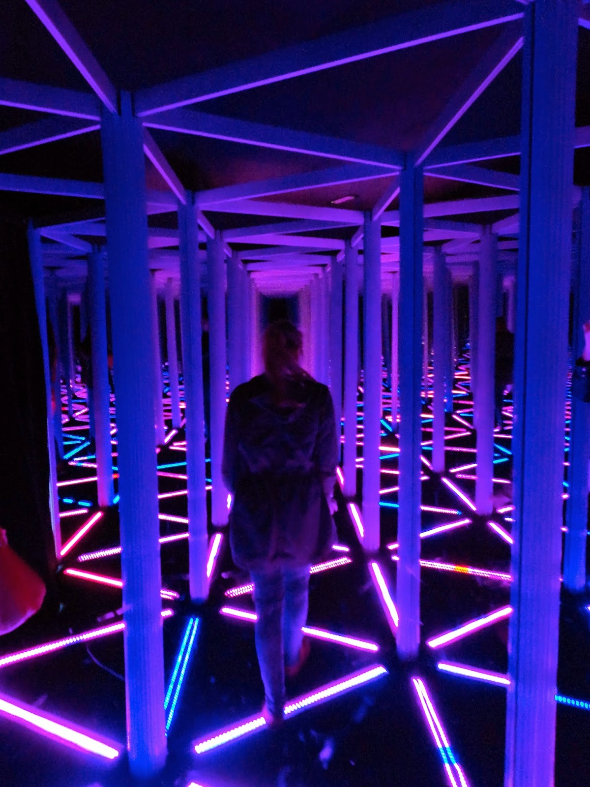 Mirror maze in Camera Obscura, Edinburgh