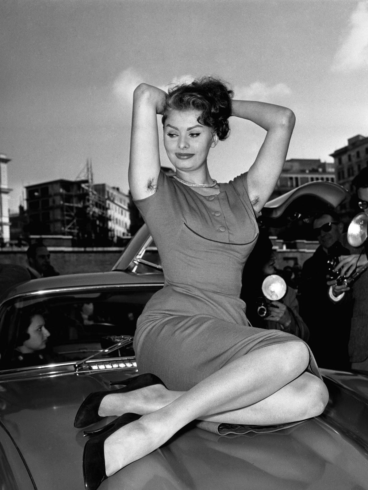 vintage armpits Rome, 1959