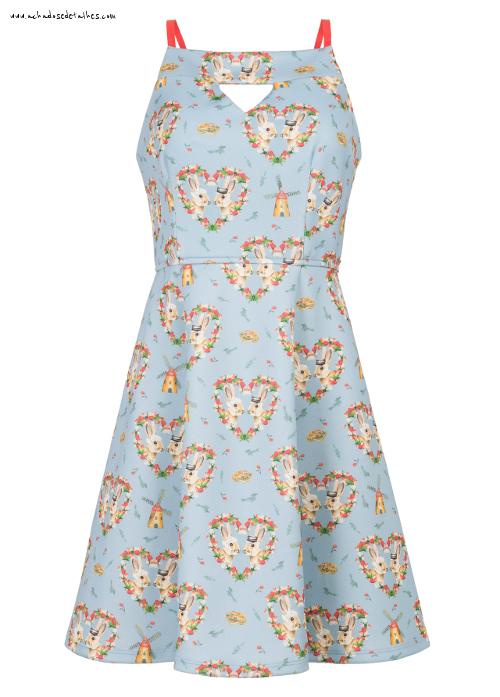 Antix vestido linda holanda
