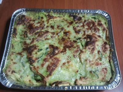 Crepes al forno con zucchine besciamella e scamorza affumicata